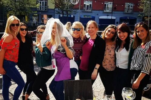 """Henpartysligo.ie """"I will be back to you for my hen party!"""""""